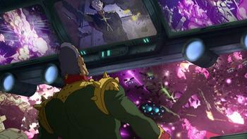 Кадр 3 аниме Мобильный воин Гандам: Происхождение