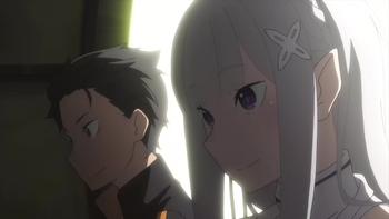 Кадр 2 аниме Re:Zero. Жизнь с нуля в альтернативном мире 2