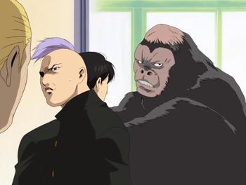 Кадр 2 аниме Кромешная путяга