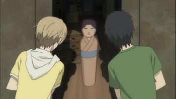 Кадр 2 аниме Тетрадь дружбы Нацумэ 3