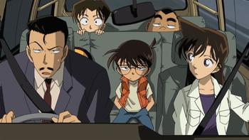 Кадр 1 аниме Детектив Конан: Реквием детективов