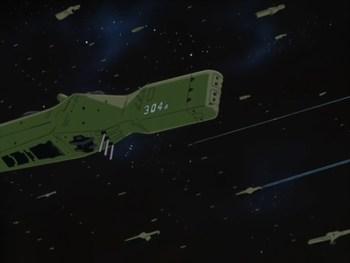 Кадр 1 аниме Легенда о героях Галактики: Спиральный лабиринт