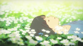 Кадр 1 аниме Волчьи дети Амэ и Юки