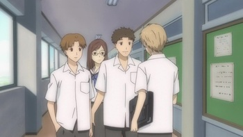 Кадр 1 аниме Тетрадь дружбы Нацумэ
