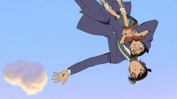 Кадр 0 аниме Детектив Конан: Потерянный корабль в небе
