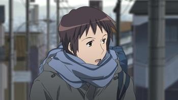 Кадр 1 аниме Исчезновение Харухи Судзумии