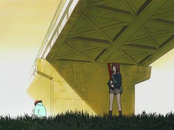Кадр 1 аниме Фури-кури