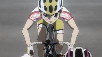 Кадр 0 аниме Трусливый велосипедист: Большая дорога