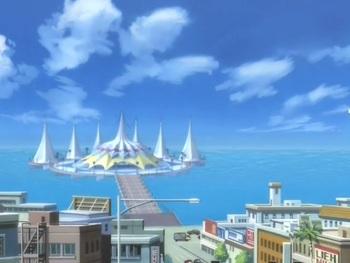 Кадр 3 аниме Огни Пёстрой арены