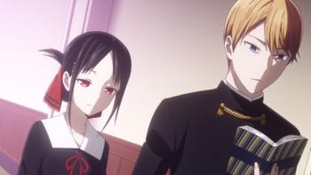 Кадр 3 аниме Госпожа Кагуя: в любви как на войне