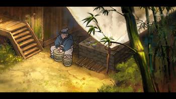 Кадр 3 аниме Туманный холм пяти стихий