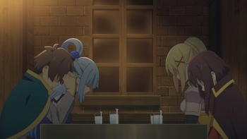 Кадр 1 аниме Этот замечательный мир! Багровая легенда