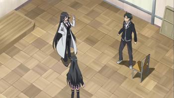 Кадр 2 аниме Как и ожидалось, моя школьная романтическая жизнь не удалась