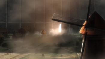 Кадр 2 аниме Атака титанов 3. Часть 2