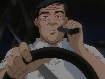 Кадр 0 аниме Инициал Ди: Стадия первая