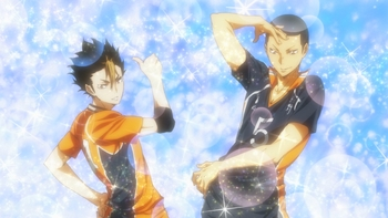 Кадр 1 аниме Волейбол!! 3